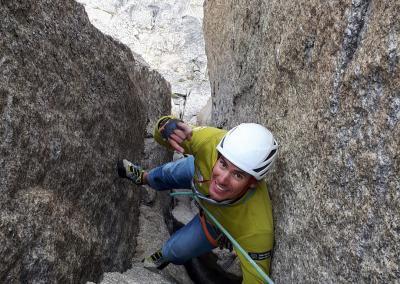 Kletterwoche Trad- und Rissklettern im Val di Mello