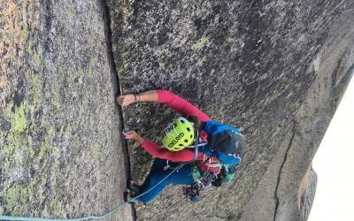 Trad- und Riss- Klettern im Val di Mello