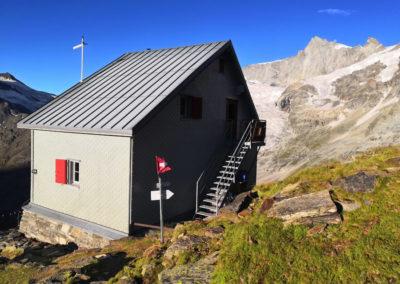 Weisshorn Überschreitung in den Walliser Alpen mit Bergführer