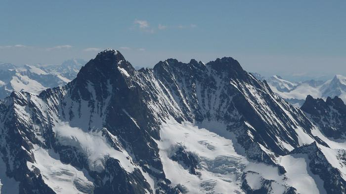 """Schreckhorn & Lauteraahorn, Berner Oberland """"wild und einsam"""""""