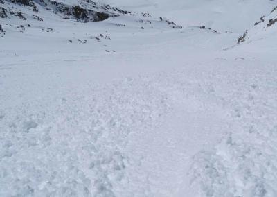 , Droites bei winterlichen Bedingungen