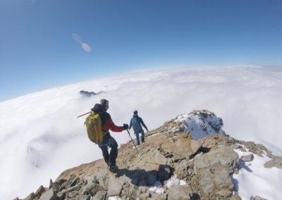 Berner Oberland - Abstieg von der Jungfrau