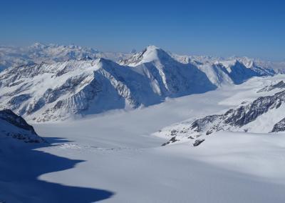 Berner Oberland - Blick zum Aletschhorn