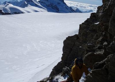 , 7x 4000er im Berner Oberland mit Ski