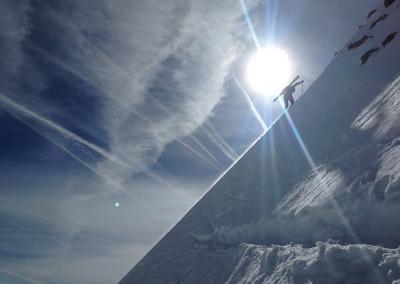 , Skitourenwochenende im Lechtal