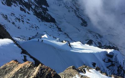 4x schwere 4000er in Chamonix