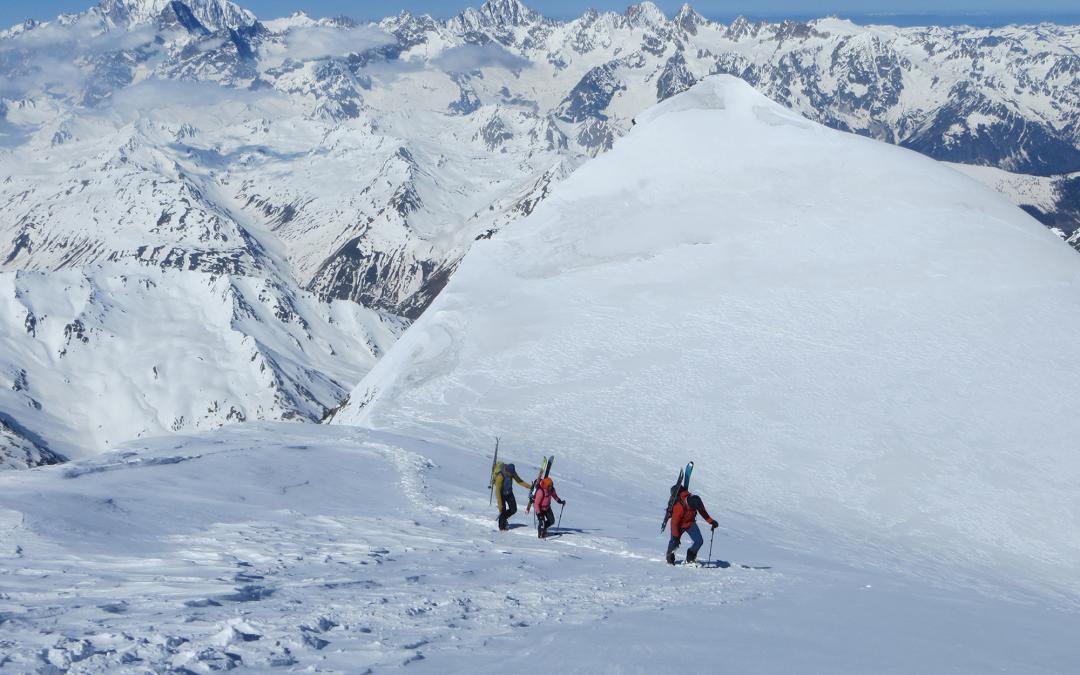 7x 4000er Skialpinismus Woche im Berner Oberland