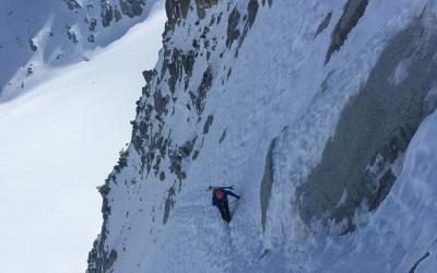 bergführer eisklettern, Eisklettern