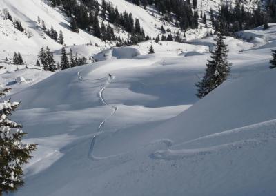 , Skitourenwochenende im Allgäu